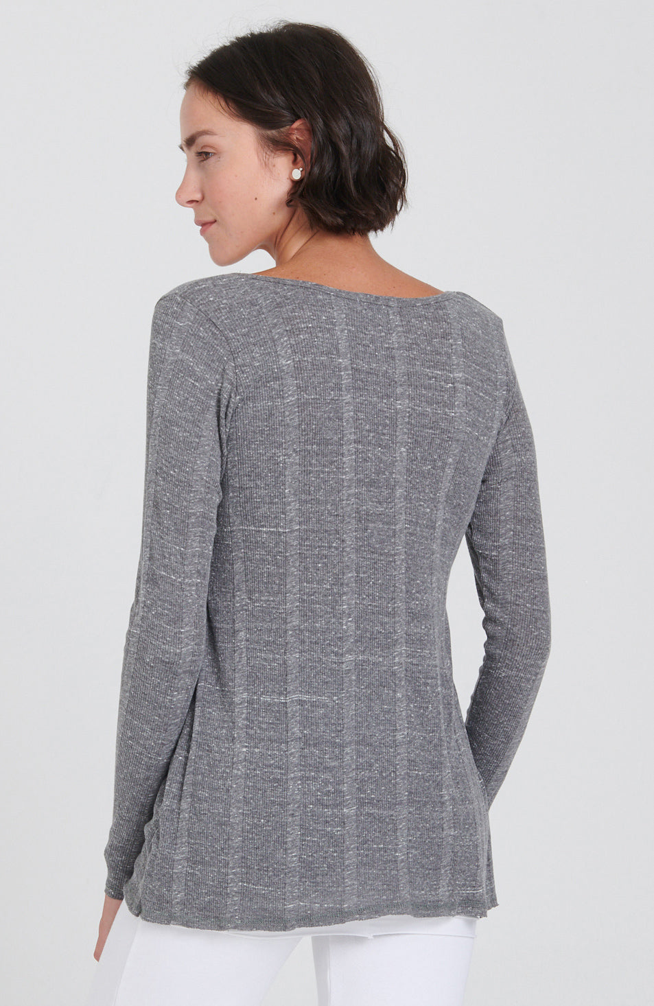 Studio Long Sleeve Tee Dove Grey