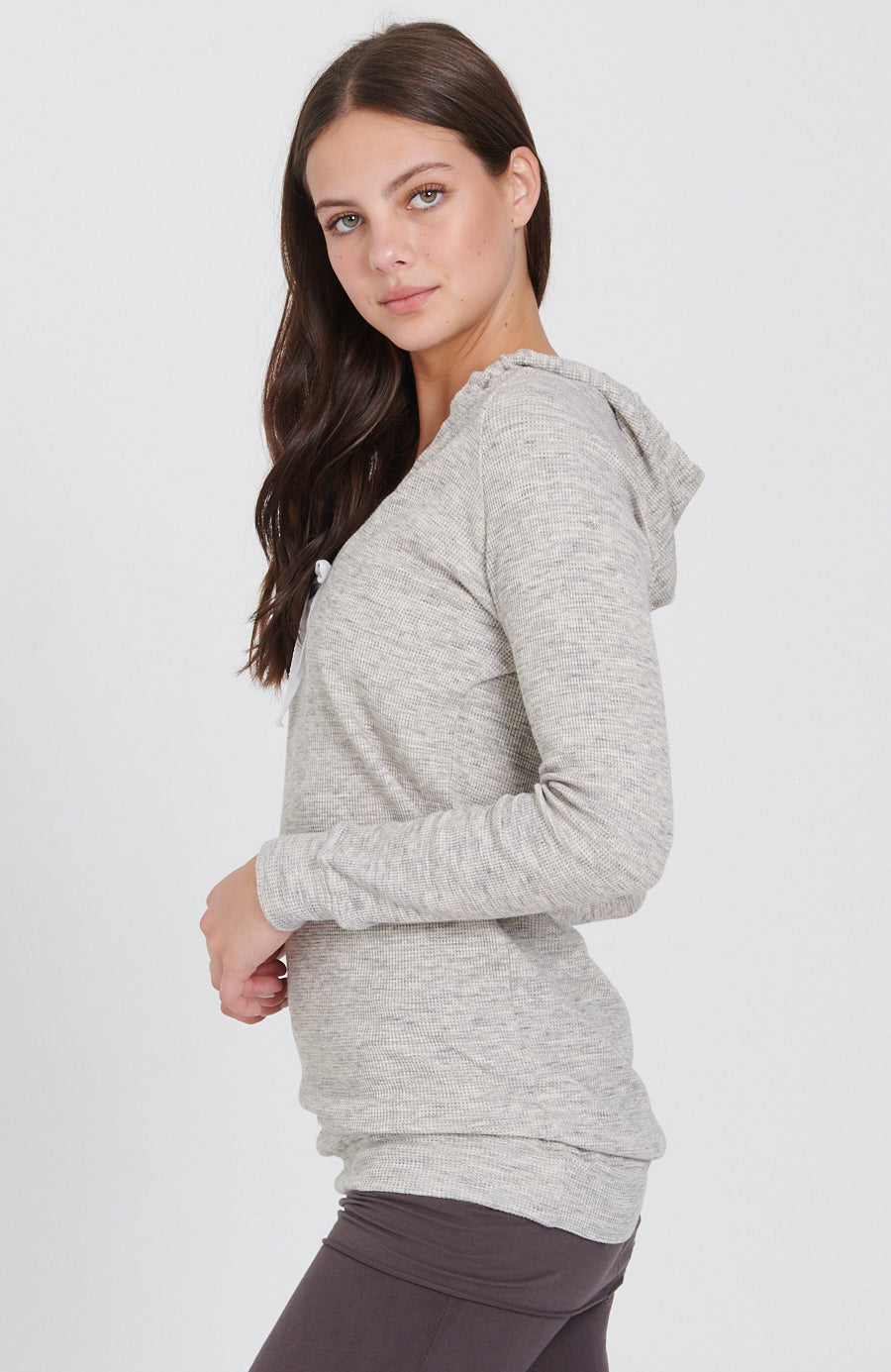 Ideal Scoop Hoodie in Natural