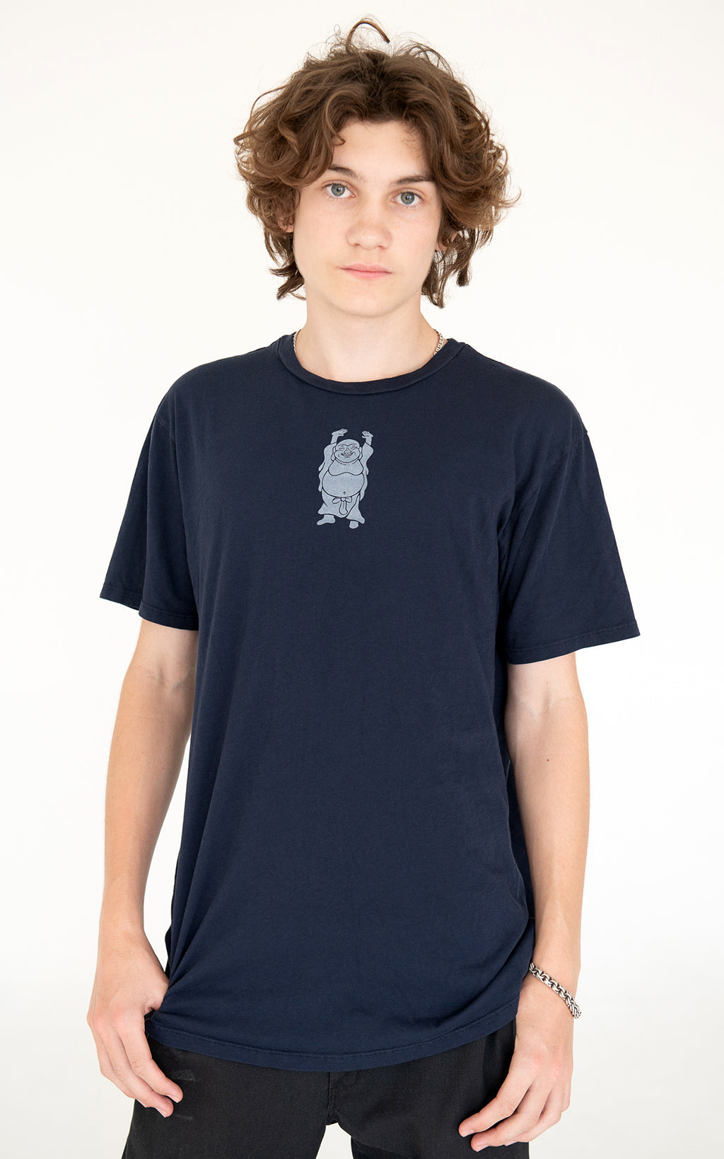 Men's Hotei Tee in Navy