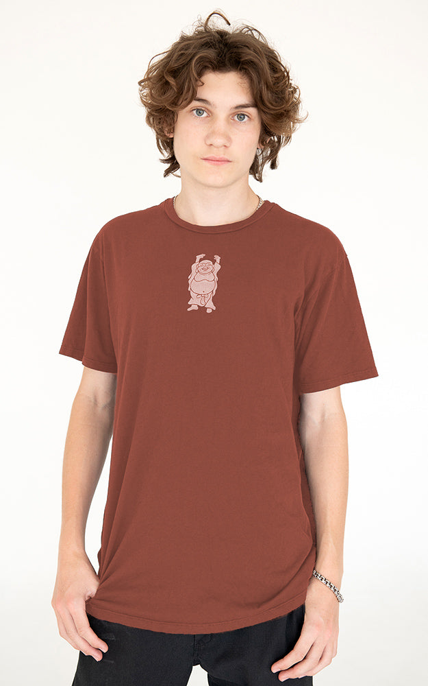 Men's Hotei Tee in Rust