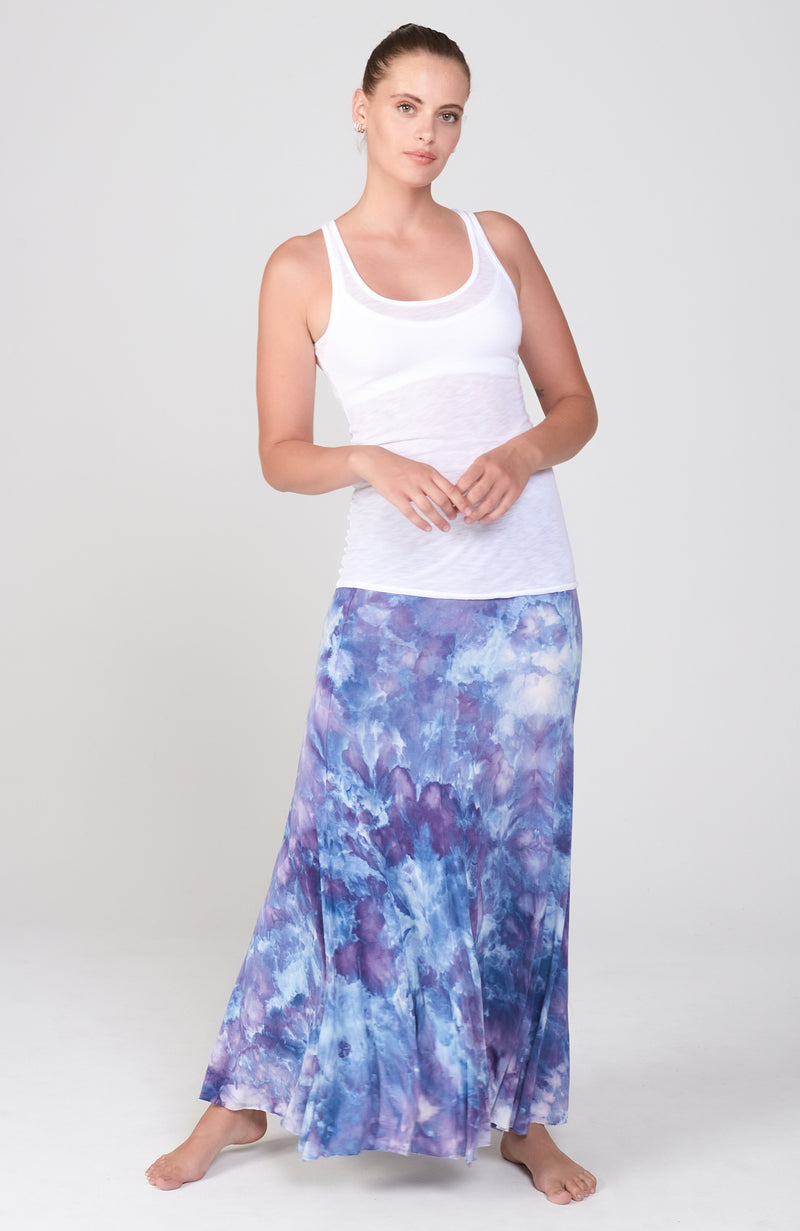 Current Skirt in Midnight Sky