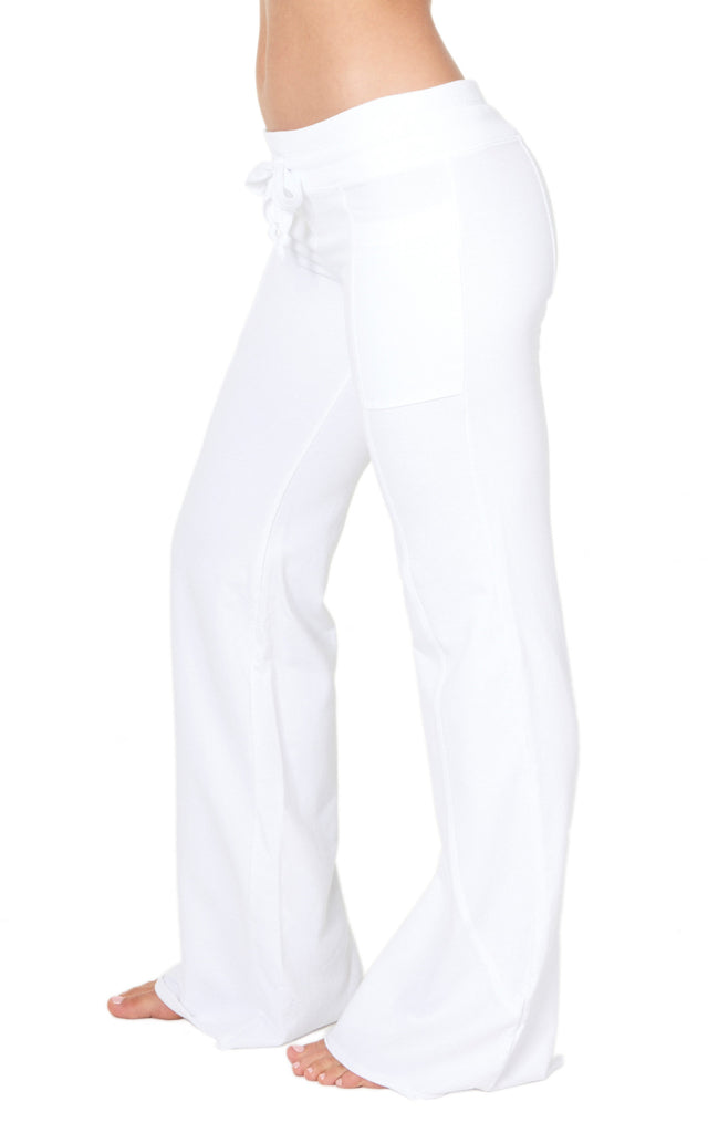 Wave Pant in White BACK IN STOCK!!!