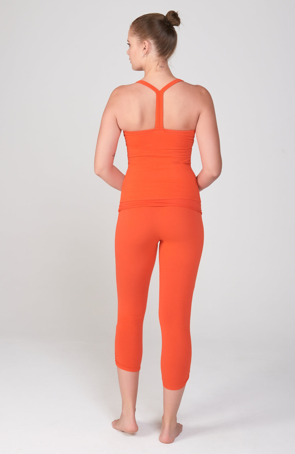 Vinyasa Cami in Orange Poppy