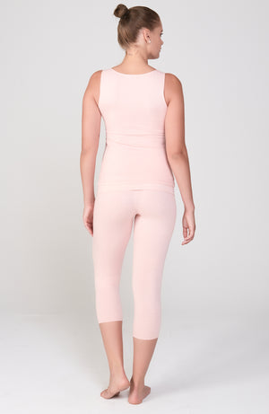 Asana Tank in Peachy Pink
