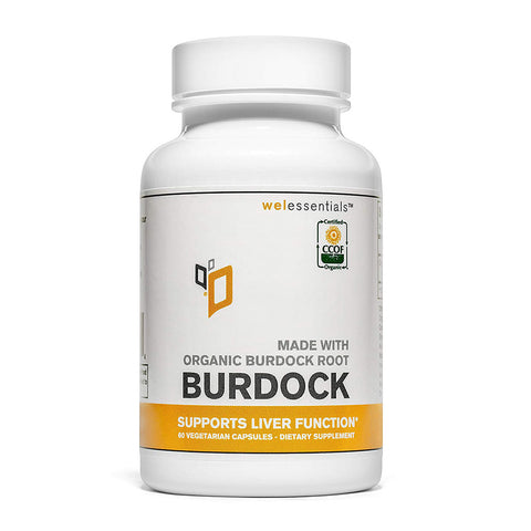 Made with Organic Burdock Root