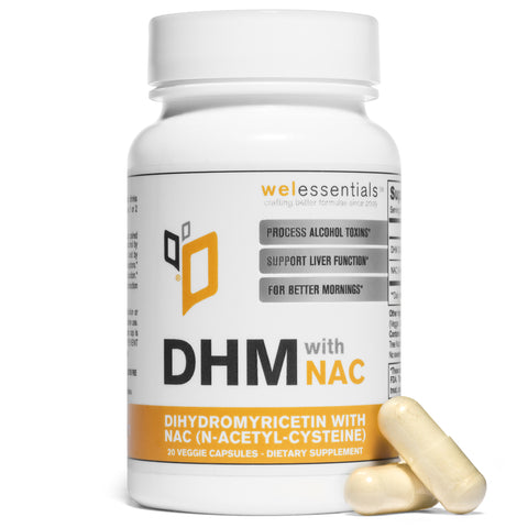 DHM with NAC (20 Capsule Bottle)