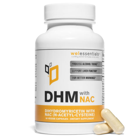 DHM with NAC (60 Capsule Bottle)