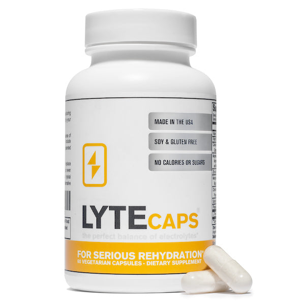 LyteCaps Electrolytes Capsules - 1 Bottle (30 Servings)