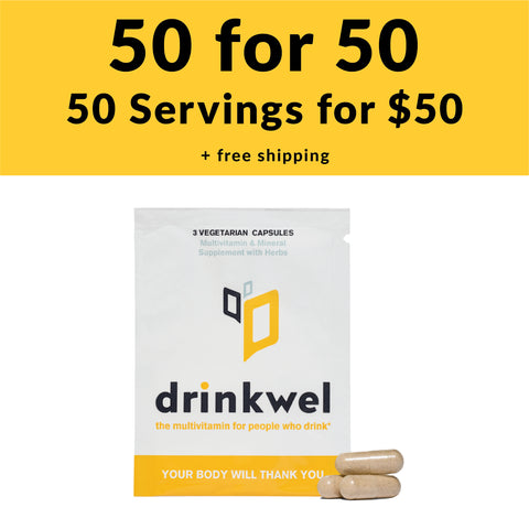 Drinkwel To-Go Packets (50)