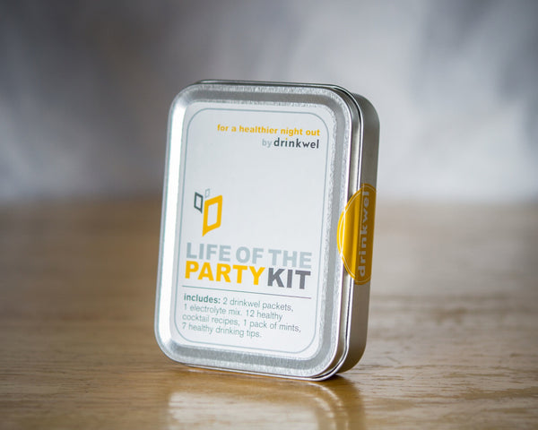 Life of the Party Hangover Kit - Wholesale Case of 24
