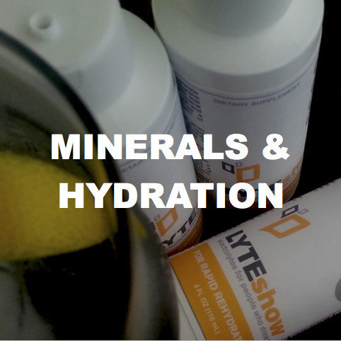 hydration and mineral supplements