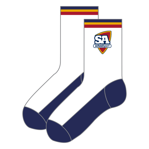 Secondary Compulsory Socks White