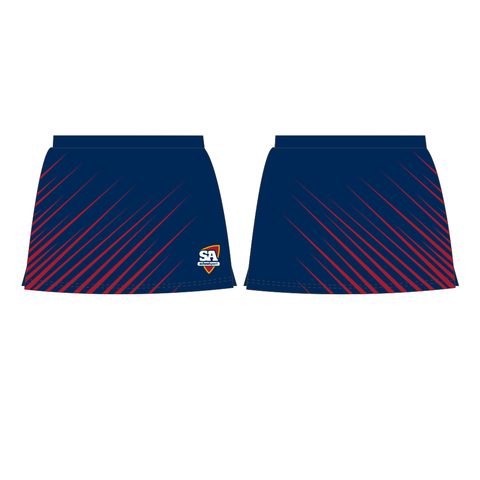 Hockey Skorts Navy Girls (with brief)