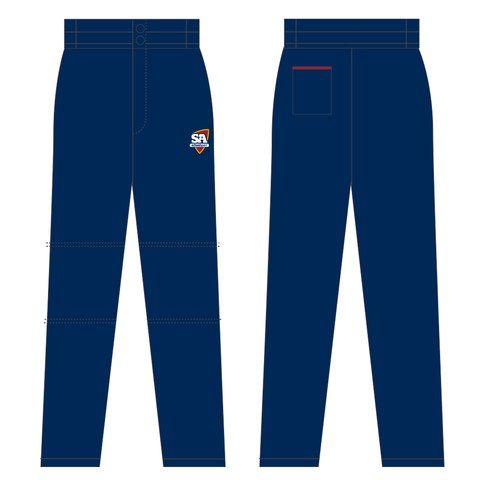 Softball Pants Girls 3/4 Length