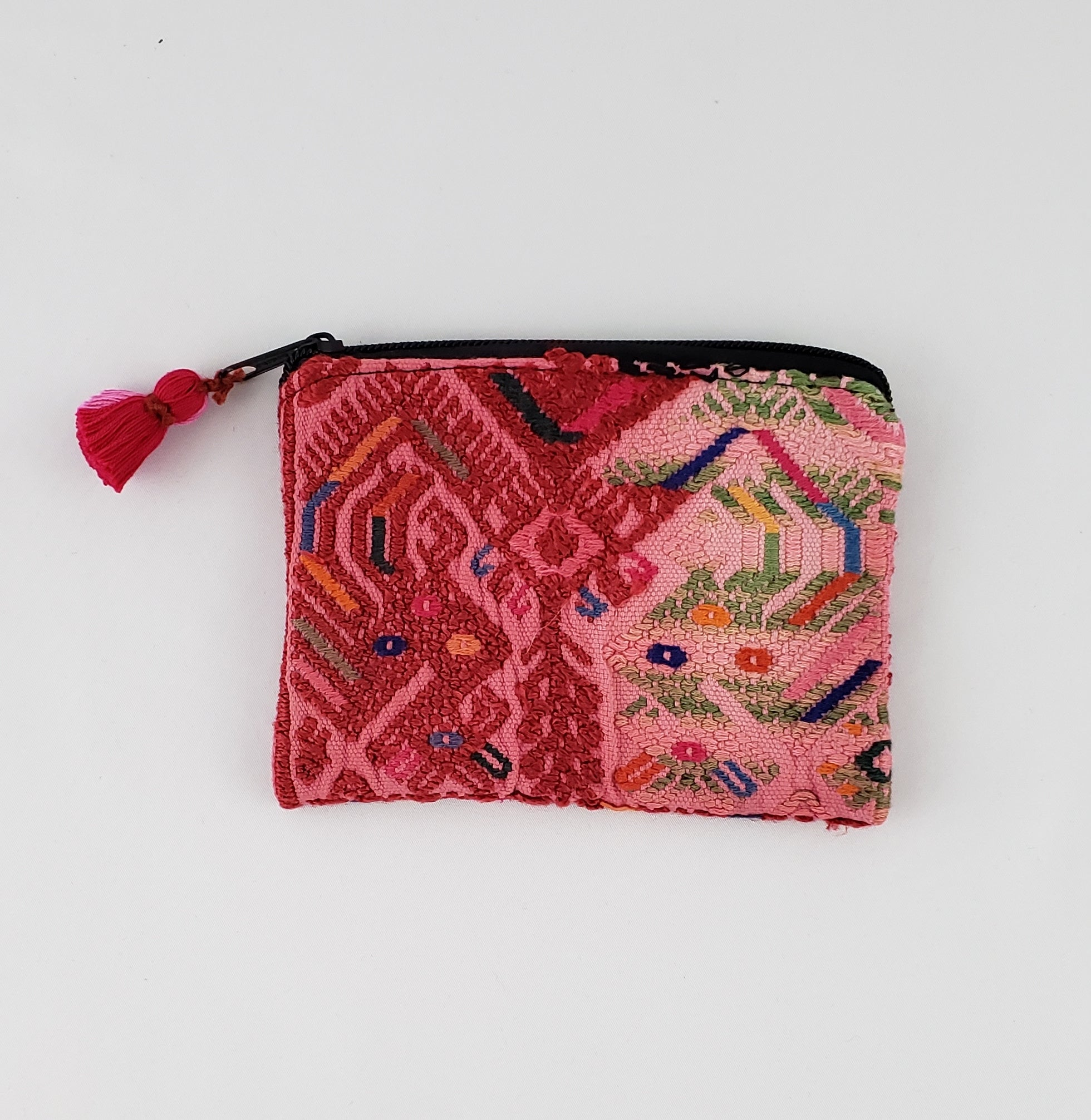Irma Pink Vintage Coin Purse