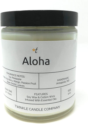 Aloha Scented 9oz Soy Candle