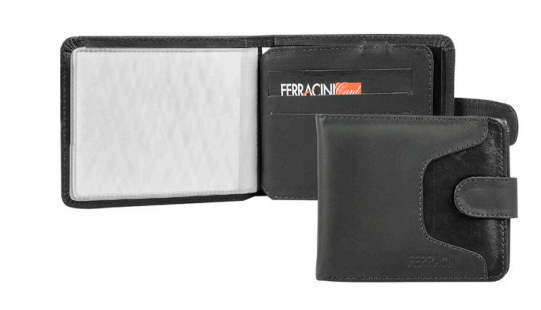 Ferracini Men's Leather Wallet CFB005