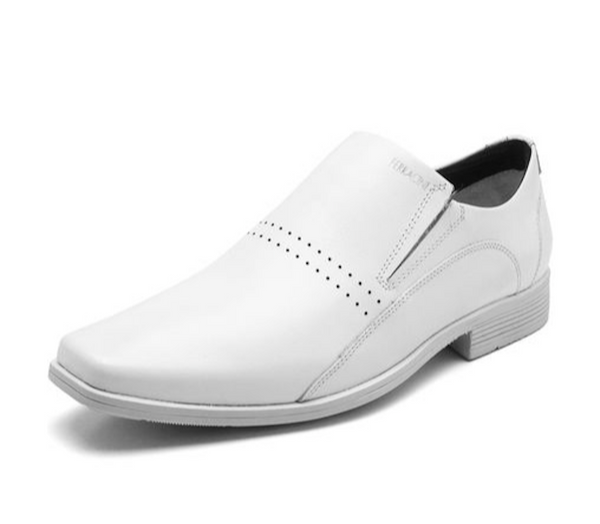 Ferracini Men's Braganca 5466 Leather White Shoes