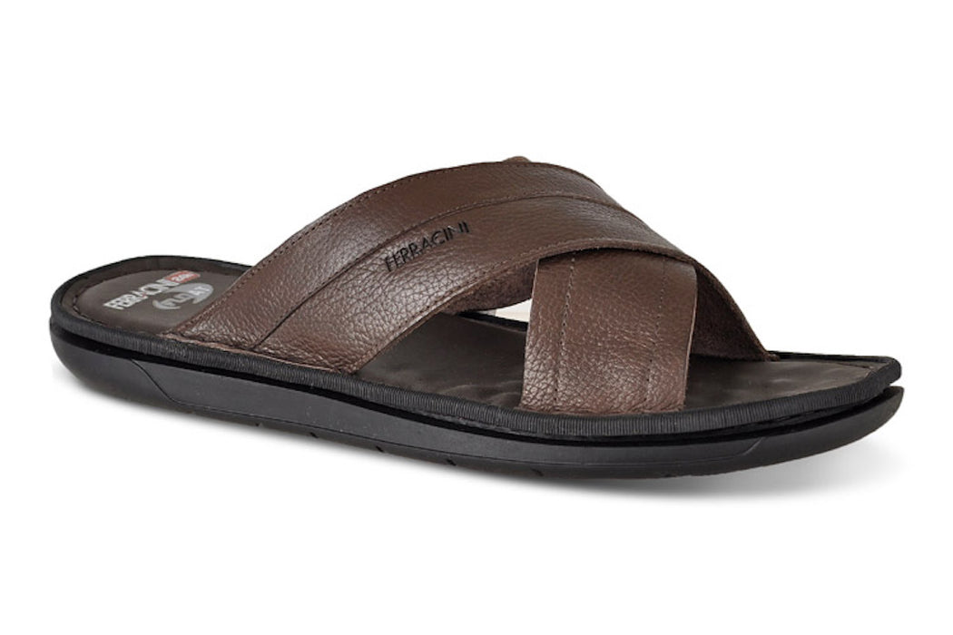 Ferracini Men's Bora Leather Sandals 2460 B