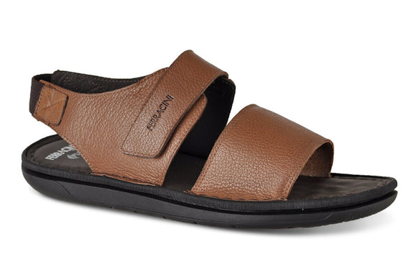 Ferracini Men's Bora Leather Sandals  2462 C