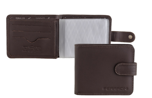 Ferracini  Men's  Leather Wallet CFB023B