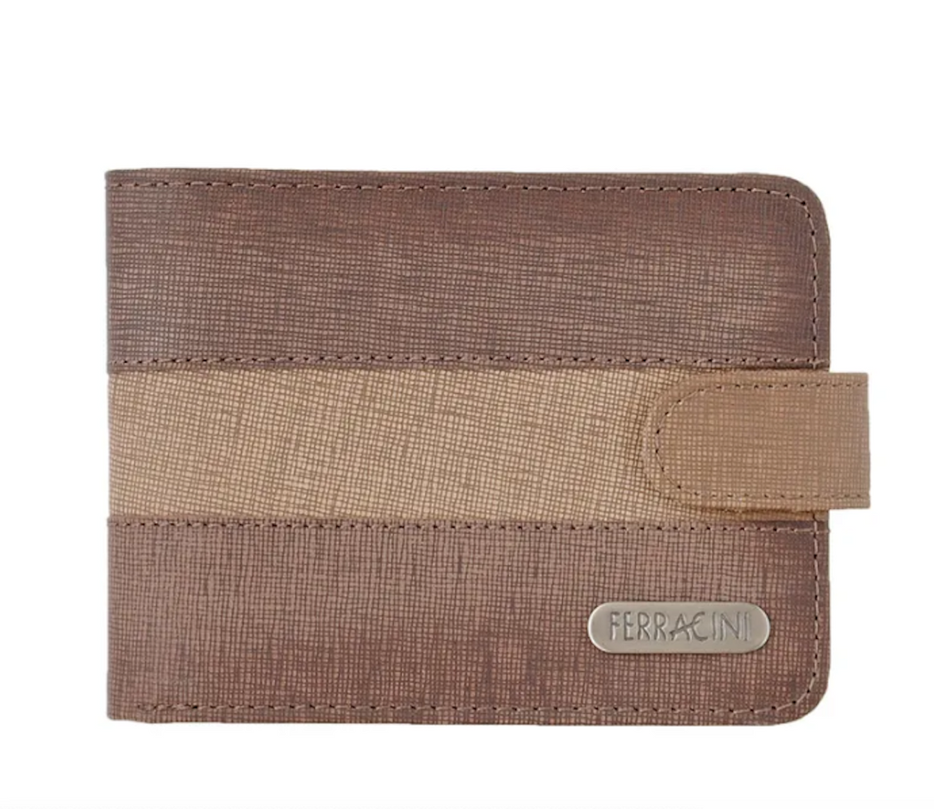 Ferracini Men's   Leather Wallet CFB026B