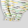 Jumper in Multi Color Striped Cotton Jersey