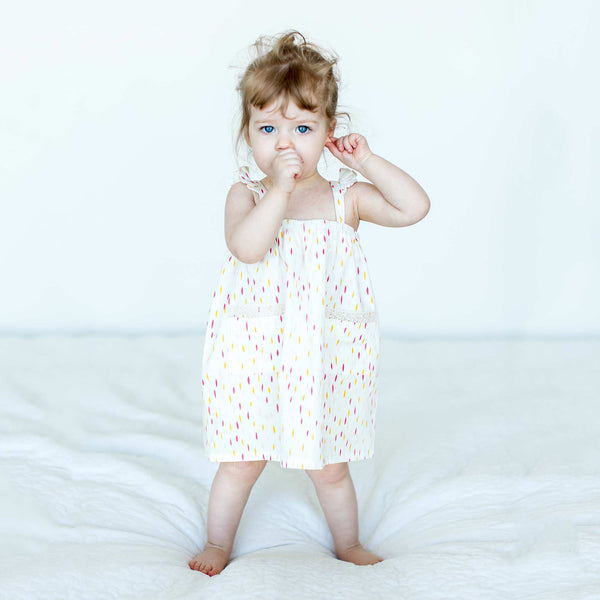 NEW:  Droplet Print Sundress