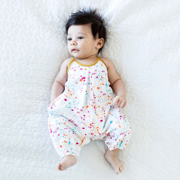 NEW: Splatter Paint Romper