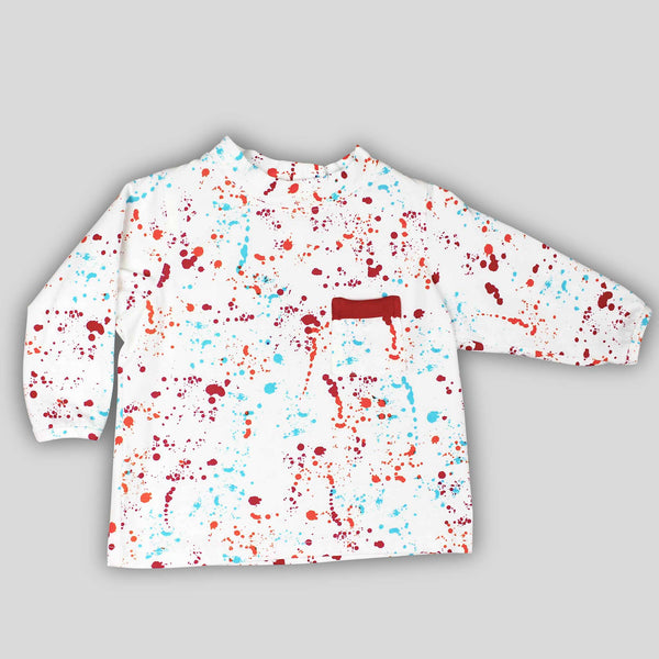Splatter Paint Long Sleeve Shirt