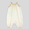 White Jumper in Organic Bamboo and Cotton Jersey
