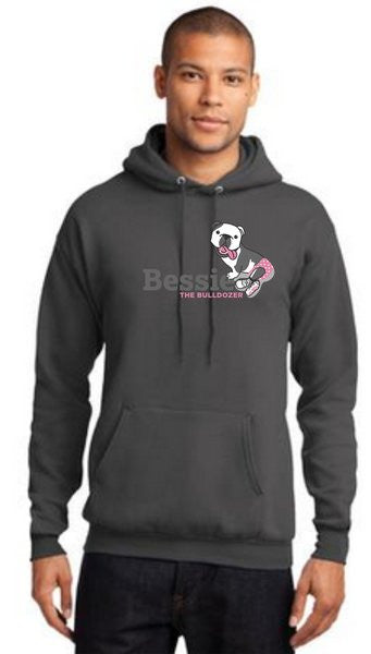 BESSIE'S PC78H - 7.8 OUNCE 50/50 BLEND HOODED SWEATSHIRT