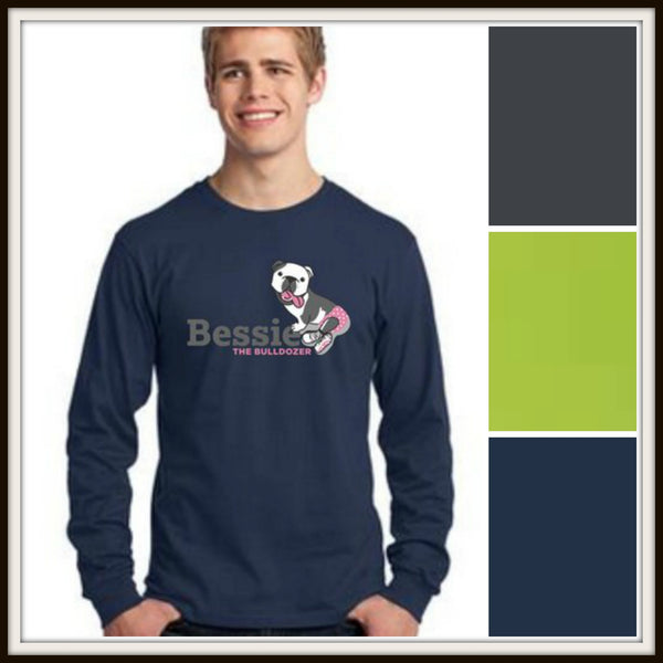 PC54LS - LONG SLEEVE COTTON T-SHIRT