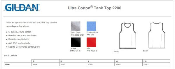 2200 Jeyda's 100% COTTON TANK