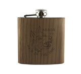 HAIR OF THE DOG - WOOD WRAPPED FLASK
