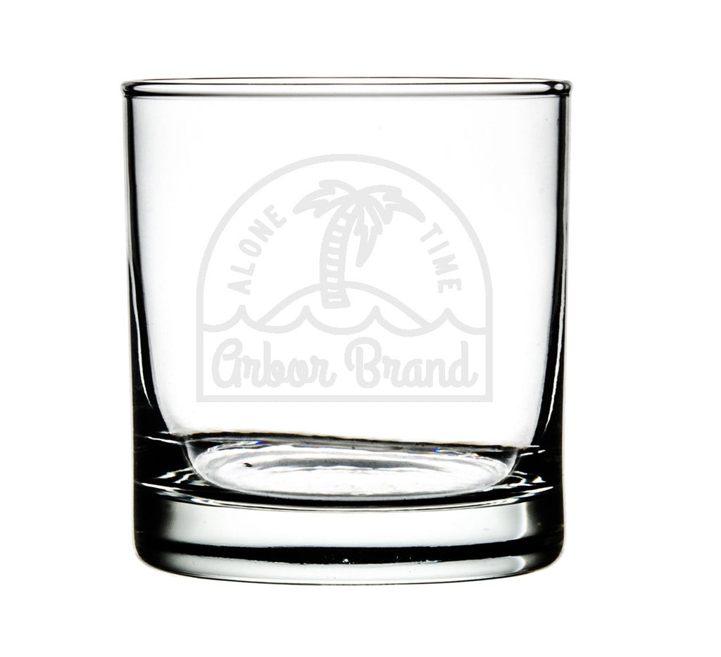 ARBOR - Alone Time - Set of 4 Whiskey Glasses