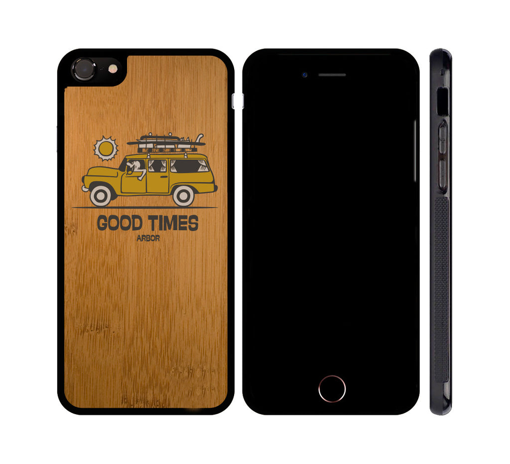 ADVENTURE MOBILE - WOOD iPHONE OR GALAXY CASE