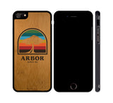 RAINBOW TREE - WOOD iPHONE OR GALAXY CASE