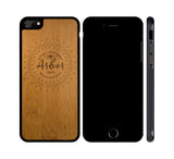 ARBOR MANDALA - WOOD iPHONE OR GALAXY CASE