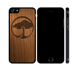 ARBOR TREE ICON - WOOD iPHONE OR GALAXY CASE