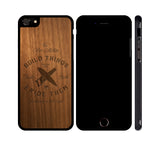 BUILD THINGS & RIDE THEM - WOOD iPHONE OR GALAXY CASE