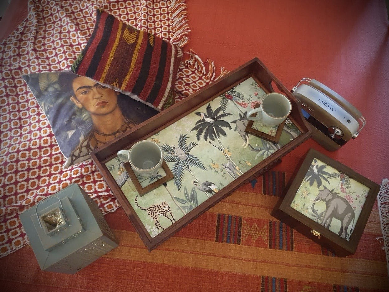 Jungle & Bed tray