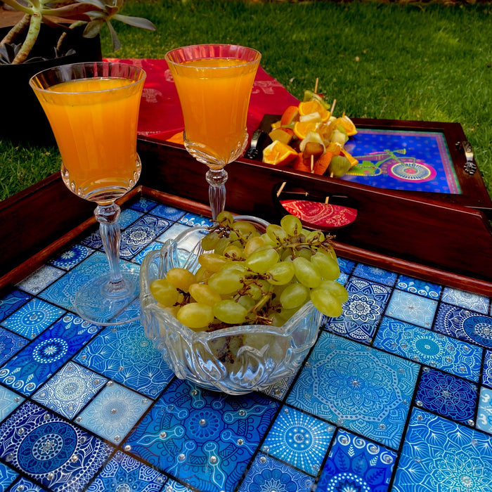 Moroccan butler trays - Summer Party Ideas