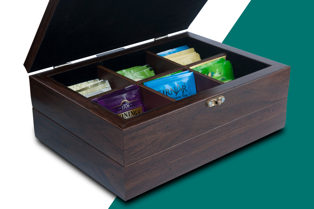 Tea Chest with Tea Sachets