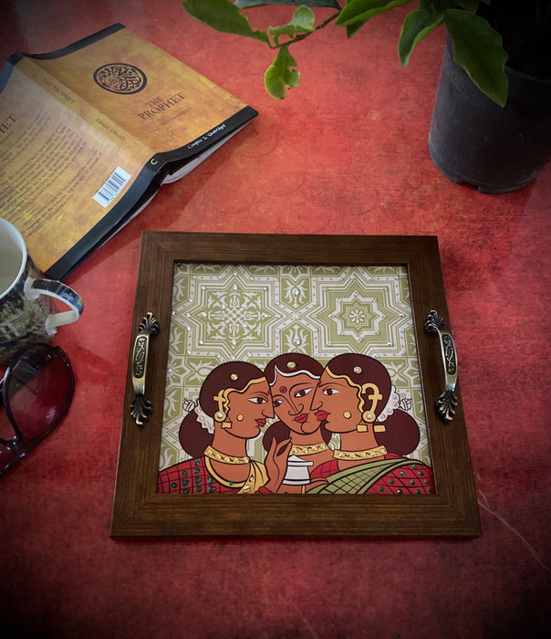 Gossip Girls Square Tray
