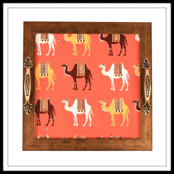 Square Camel Tray