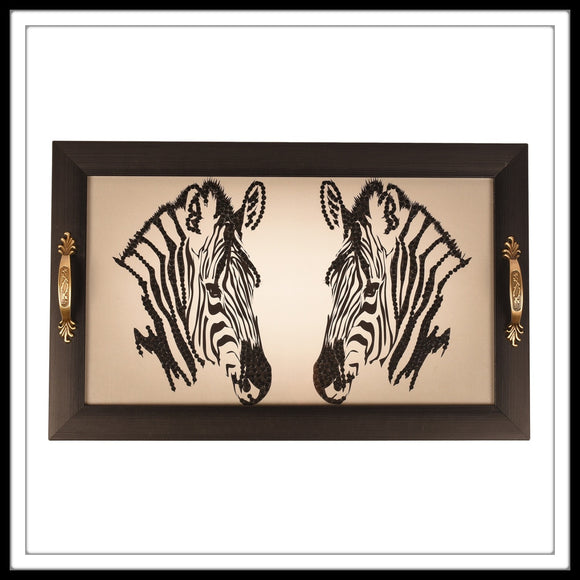 Zebra Long Tray