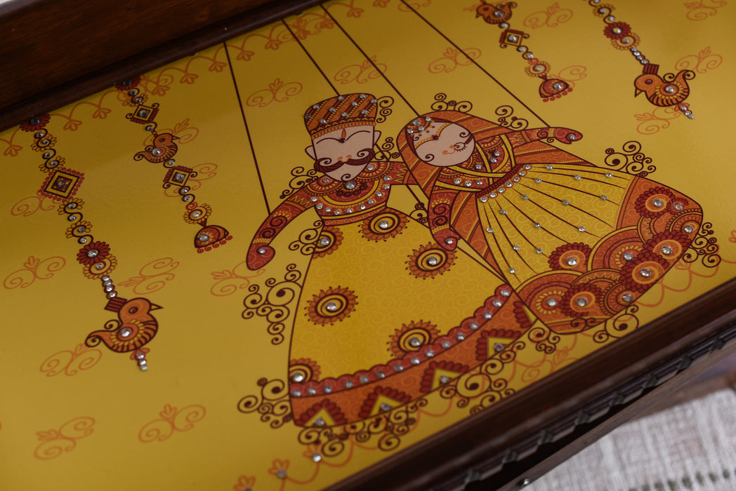 Dancing Puppets Tray & Bed Table - Footprints Forever