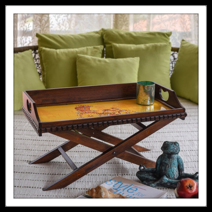 Rickshaw Tray & Bed Table - Footprints Forever