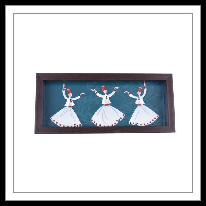Dancing Dervishes Box Tray - Footprints Forever